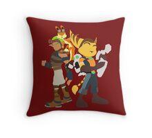 Playstation Duo Teams! Throw Pillow