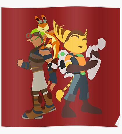 Playstation Duo Teams! Poster