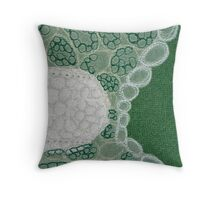 Dactylis glomerata Throw Pillow