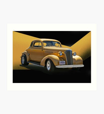 1937 Chevrolet Coupe Art Print
