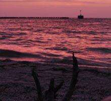Sunrise, Boca Grande, Florida, USA, As Is Sticker