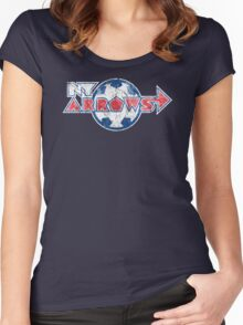 New York Arrows Jersey Women's Fitted Scoop T-Shirt