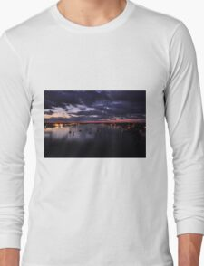 Before Sunrise on Mantazas Pass Bridge Long Sleeve T-Shirt