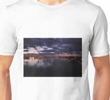 Before Sunrise on Mantazas Pass Bridge Unisex T-Shirt