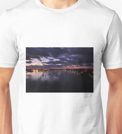 Before Sunrise on Mantazas Pass Bridge Unisex T-Shirt