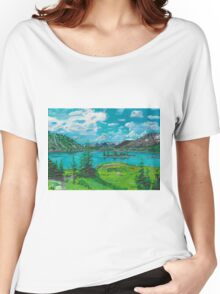 Grizzly Lake  Women's Relaxed Fit T-Shirt
