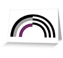 Hetero-asexual Greeting Card