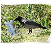 Product Placement Crow Poster