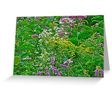 Mixed weeds 1 Greeting Card