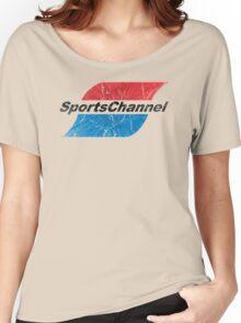 SportsChannel Women's Relaxed Fit T-Shirt