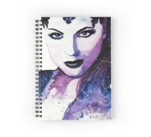 Once Upon a Time Evil Queen Watercolor  Spiral Notebook