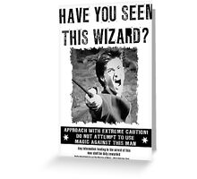 Wanted - Harry Potter Greeting Card