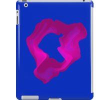 Fuschia Heart Smoke iPad Case/Skin
