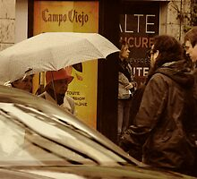 A Rainy Day in Montreal by Lee Donavon Hardy