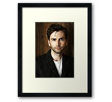 David Tennant 2 Framed Print