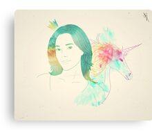 The Animals - Jaime Murray Canvas Print