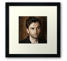 David Tennant 3 Framed Print