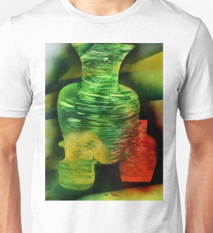 Ghostly Vases in sunlight Unisex T-Shirt