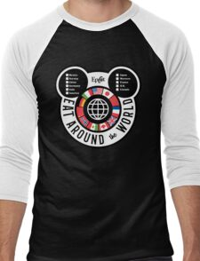Eat Around the World - EPCOT checklist Men's Baseball ¾ T-Shirt