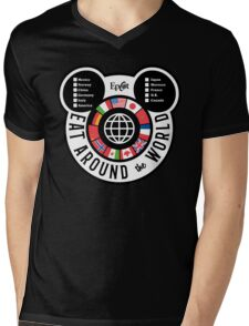 Eat Around the World - EPCOT checklist Mens V-Neck T-Shirt