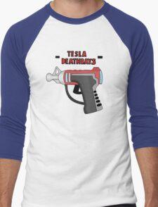 Tesla Deathrays  Men's Baseball ¾ T-Shirt