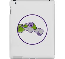 Pilot with gas mask iPad Case/Skin