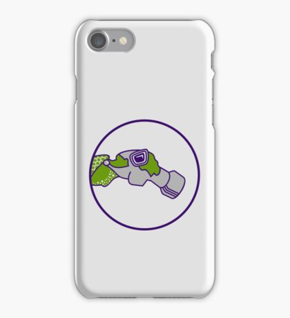Pilot with gas mask VRS2 iPhone Case/Skin