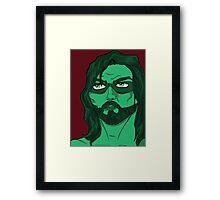 Emerald Framed Print