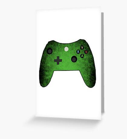 xbox controller Greeting Card