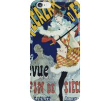 Jules Cheret - Alcazar D ete. Dancer painting: dance, ballet, dancing woman, ballerina, tutu, femine, women, dancer, disco, dancers, girls iPhone Case/Skin