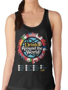 Drink Around the World - EPCOT Checklist v1 Women's Tank Top
