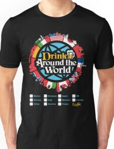 Drink Around the World - EPCOT Checklist v1 Unisex T-Shirt