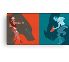 POKEMON BLACK Canvas Print