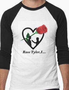 Rose Tyler,I... Men's Baseball ¾ T-Shirt