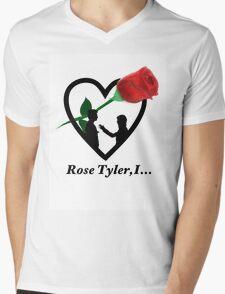 Rose Tyler,I... Mens V-Neck T-Shirt