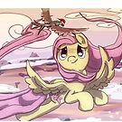 Fluttershy in the Sky by Ashleigh Suter