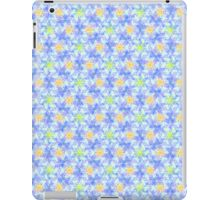 blue - yellow pattern iPad Case/Skin