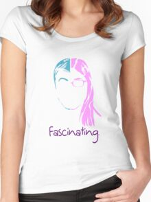 Shamy The Big Bang Theory Fascinating Women's Fitted Scoop T-Shirt