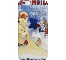 Jules Cheret - Benzo-Moteur Poster. Dancer painting: dance, ballet, dancing woman, ballerina, tutu, femine, women, dancer, disco, dancers, girls iPhone Case/Skin
