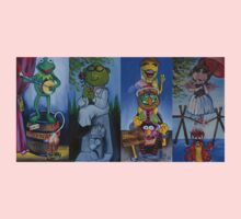 Muppets Haunted Mansion Stretching Room Portraits Kids Clothes