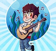 Darren Criss - New Prince Eric by Sunshunes