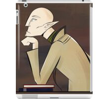 Fade thoughts iPad Case/Skin