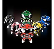Powerpuff Rangers! Photographic Print
