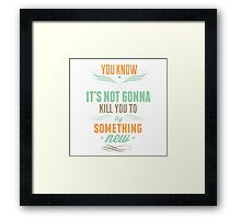 Rookie Blue - Gail x Holly Quotes [2] Framed Print