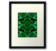 Green Velvet  Framed Print