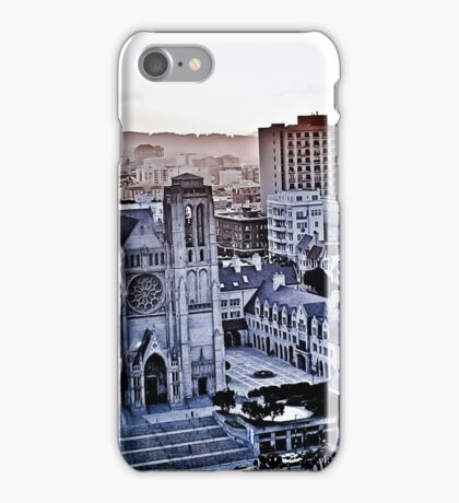 Sf Gothic memory waiting to happen  iPhone Case/Skin