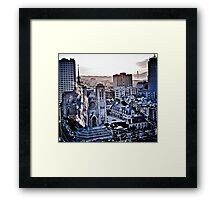 Sf Gothic memory waiting to happen  Framed Print