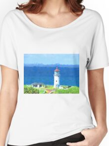 Kilauea Point  by Lena Owens Women's Relaxed Fit T-Shirt
