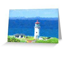 Kilauea Point  by Lena Owens Greeting Card