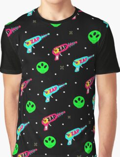 Alien Zap Graphic T-Shirt